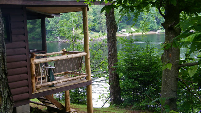 Adirondack Cabins: Camp Driftwood in Indian Lake, New York